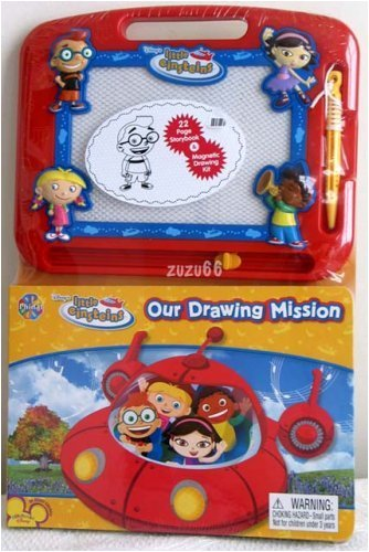 disneys-little-einsteins-our-drawing-mission-book-mini-magna-doodle