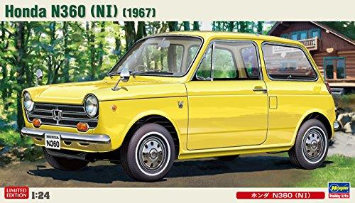 1/24 ヒストリックカーシリーズ ホンダ N360 NI プラモデル 20285