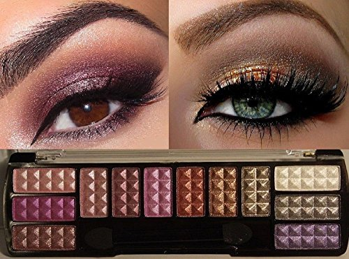 Professional Makeup Cosmetic Eyeshadow 12 Colors Eye Shadow Palette Set No.1