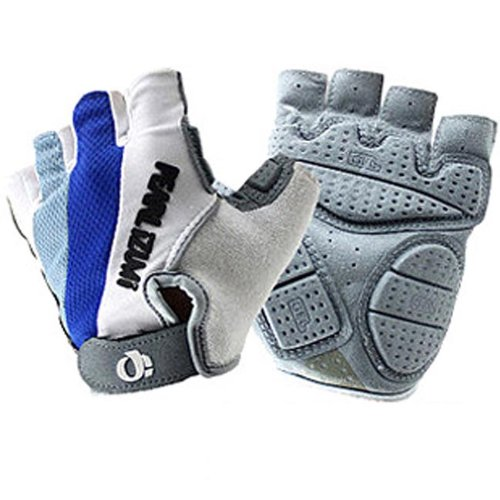 New Practical Professional Shockproof Cycling Bike Bicycle Half Finger Gloves Size M
