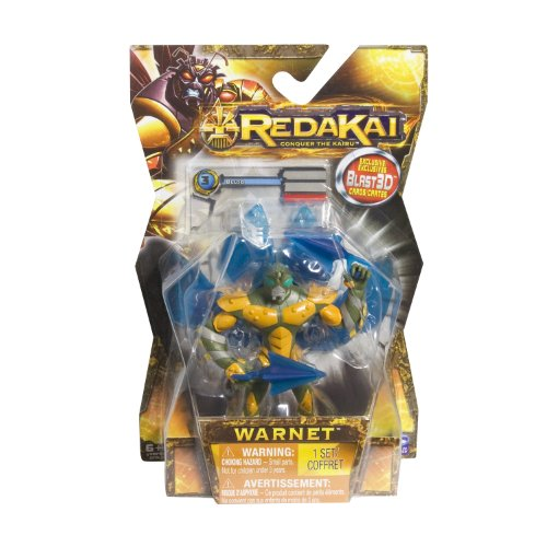 Redakai - Basic Figure with Card - Warnet