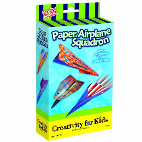 Creativity For Kids Paper Airplane Squadron Kit front-378470