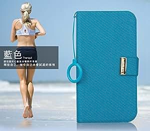 Kalaideng (KLD) Unique Series Case & Cover for Google Nexus 4 (Blue)-Retail Packaging