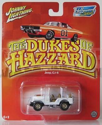 Johnny Lightning Hollywood On Wheels The Dukes Of Hazzard Jeep CJ-5 White