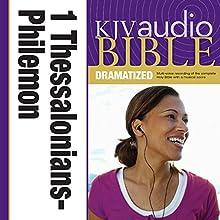 KJV Audio Bible: 1 and 2 Thessalonians, 1 and 2 Timothy, Titus, and Philemon (Dramatized) | Livre audio Auteur(s) :  Zondervan Bibles