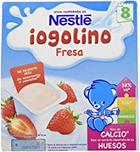 Iogolino Fresa A Partir De 8 Meses - Pack de 4 x 100 g - Total: 400 g