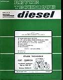 Revue technique diesel, n° 86 : D. Fiat, Someca, tracteur agricoles 780 et 780 dt mot