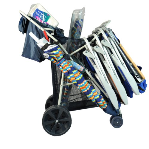 Super Max Wonder Wheeler Beach Rolling Cart