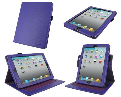 roocase-dual-axis-genuine-purple-leather-case-for-4th-generation-ipad-with-retina-display-the-new-ip