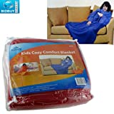 BRAND NEW - KIDS COZY BLANKET - CHILD BLANKET - BABY BLANKET - IDEAL WHILE READING, WATCHING TV, AND PLAYING GAMES - INDOOR AND OUTDOOR