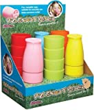 Kitsch'n'Fun 'Pig Snout' Plastic Beakers in Assorted Cols - Display of Twenty-four