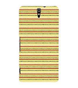EPICCASE ethnic design Mobile Back Case Cover For Sony Xperia C5 (Designer Case)