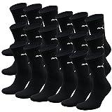 PUMA Unisex Crew Socks Socken Sportsocken MIT FROTTEESOHLE 18er Pack