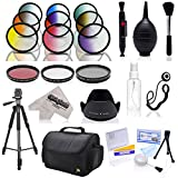 Opteka Deluxe Accessory Bundle with UV - CPL - FLD - Graduated Color Filters - 72