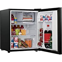 Galanz GL27BK 2.7 cu ft Reversible Single Door Refrigerator (Black)