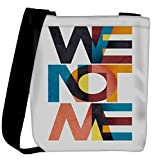 Snoogg We Not Me Womens Carry Around Cross Body Tote Handbag Sling Bags
