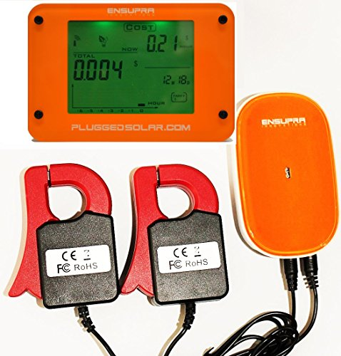 Home Energy Use Monitor : Wireless home power electric meter save energy monitor