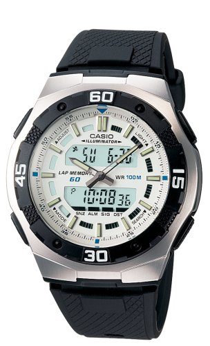 Casio Men's AQ164W-7AV Ana-Digi Sport Watch