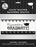 "Classic Graduation Wall Banner & Photo Prop, 60"" x 27"""