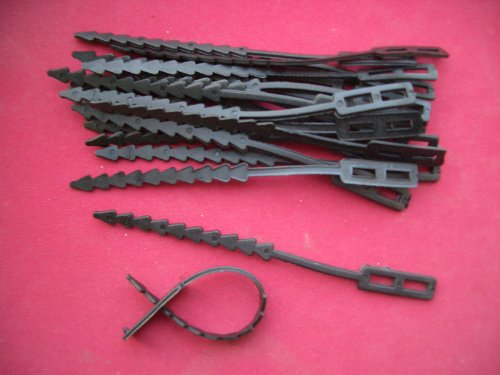 20 X Adjustable Plastic Garden Plant Tree Shrub Support Ties 5