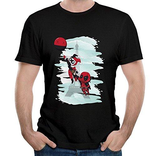 Loly Brand Men's Harley Quinn Secret Arleen Sorkin Baseball T Shirt M