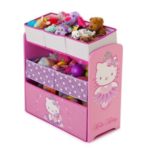 Hello Kitty Scaffale Multi Contenitore Portagiochi