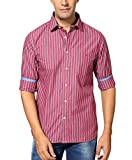Byford by Pantaloons Men's Cotton Shirt Red_39