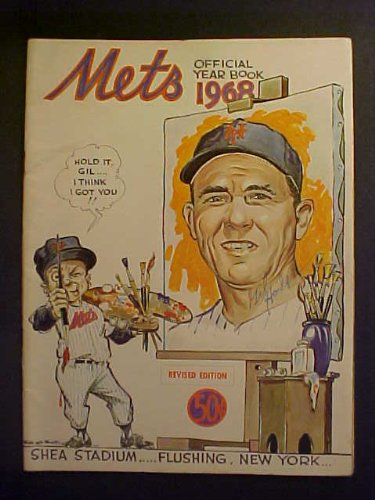 Gil Hodges New York Mets Autographed 1968 Mets Official Yearbook at Amazon.com