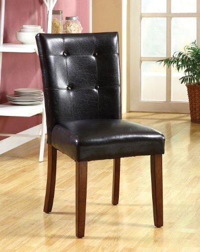 Furniture Of America Little Rock I Side Chair Set Of 2 Best Deals Killoppase
