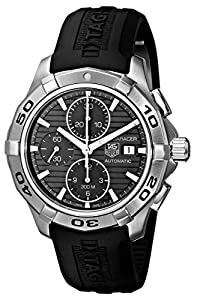 TAG Heuer Men's CAP2110.FT6028 Aquaracer Black Chronograph Dial Watch