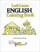 Lets Learn English Coloring Book Books
