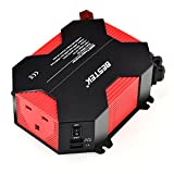 BESTEK 400W Power Inverter DC 12V to 230V AC Car Adapter with 5A 4 USB Charging Ports