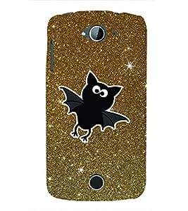 Bat Stars 3D Hard Polycarbonate Designer Back Case Cover for Acer Liquid Zade Z530 : Acer Liquid Zade Z530S