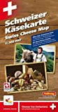 img - for Swiss Cheese Map (Schwizer Kasekarte, Carte Des Fromages Suisses) book / textbook / text book