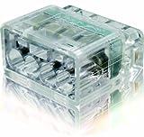 冨士端子工業 VFコネクタ 電線差込型コネクタ 2点接点タイプ PC354 極数:4 クリア (1ケース40個入り)