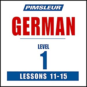 German Level 1 Lessons 11-15 Speech