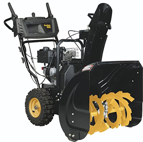 Poulan PRO 961920092 208cc 2-Stage Electric Start Snow Thrower, 24""