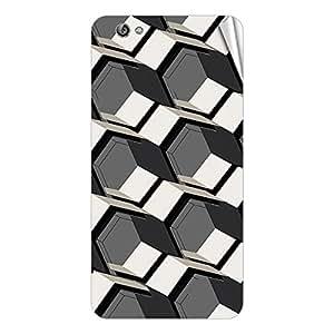 Garmor Designer Mobile Skin Sticker For Gionee 715 - Mobile Sticker