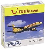 Schabak 403551486 TUIfly / Thomson B737-800 Aeroplane 1:600 Scale