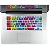 "Litop® Thin Psychedelic Series Silicone Keyboard Cover Keyboard Skin For All MacBook Air 13"", MacBook Pro With..."
