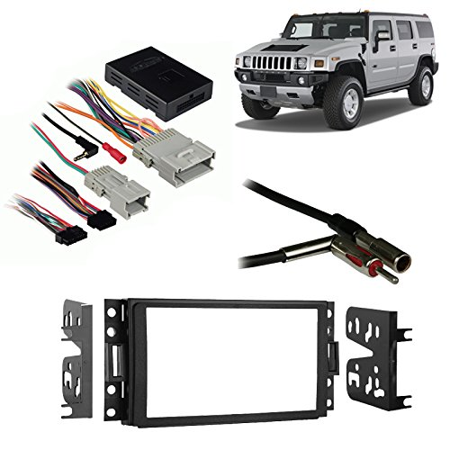 fits-hummer-h3-2006-2010-double-din-aftermarket-harness-radio-install-dash-kit