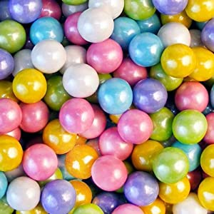 Sixlets Pearl Assorted 2.5 Pound Candy Coated Chocolate Balls