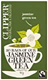 Clipper Fairtrade Jasmine Green 20 Teabags (Pack of 6, Total 120 Teabags)