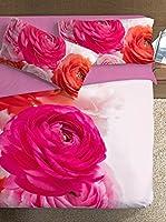 Ipersan Juego De Funda Nórdica Piazzato Fine Art Bouquet (Fucsia/Cereza)