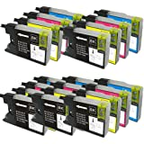 20 XL Colour Direct Compatible Ink Cartridges Replacement For Brother LC1280 - MFC-J5910DW, MFC-J6510DW, MFC-J6710DW, MFC-J6910DW