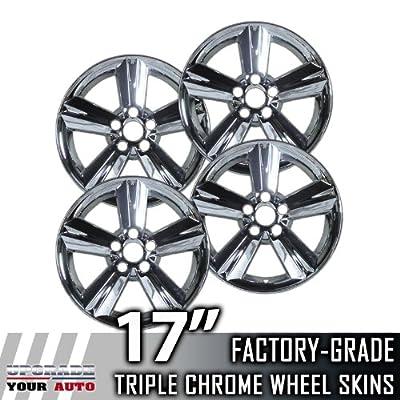 """2008-2011 Toyota Matrix 17"""" Chrome Wheel Skins"""