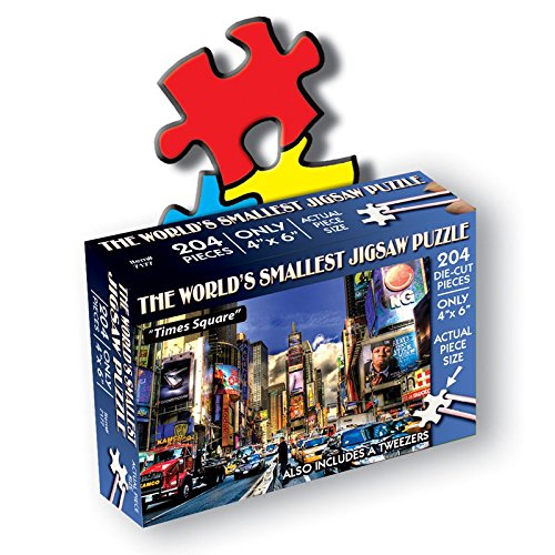 "TDC Games Jigsaw Puzzle 234 Pieces 4""X6""-Times Square"