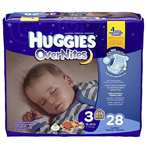 Huggies Overnites Diapers - Size 3 - 28 ct - 1