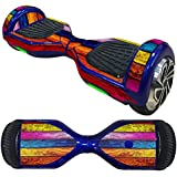 FocusSkins Colorful Wood Sheet Design Skin Decal For Electric Self Balance Scooter Board