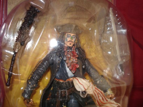 Picture of Disney Pirates of the Caribbean Dead Man's Chest: Set of 6 Collectable Action Figures (B000SXI5CO) (Disney Action Figures)